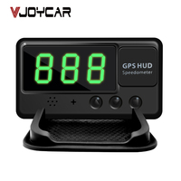 VJOYCAR C60 Universal Car HUD GPS Speedometer Head Up Display Windshield Digital Speed Projector Overspeed Alarm For All Vehicle
