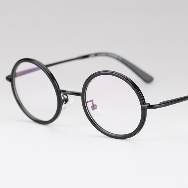 1bbc0cc037c42 Restaurar Antigas Formas Elipse Óculos de Armação de óculos de Miopia  Quadro de Imagem De Transmissão