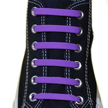 16pcs/lot Shoe Laces Shoes Accessories Silicone Shoe Laces Elastic Shoelaces Creative Lazy Silicone Laces No Tie Rubber Lace darseel shoe accessories shoelaces tax