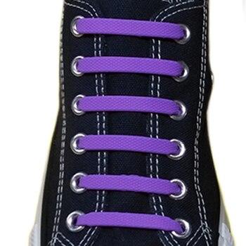 16pcs/lot Shoe Laces Shoes Accessories Silicone Shoe Laces Elastic Shoelaces Creative Lazy Silicone Laces No Tie Rubber Lace 16pc set no tie shoelaces elastic silicone shoe laces rubber laces lazy shoelaces for all sneakers boots casual shoes 13 colors