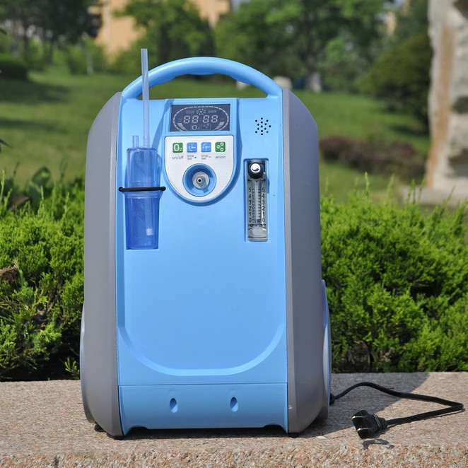 LoveGo portable oxygen concentrator LG101 for oxygen therapy bioelectric therapy machine electric oxygen concentrator physical therapy rehabilitation
