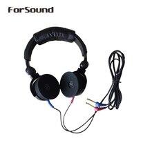 חדש לגמרי TDH39 DD45 Audiometer אוזניות אוויר מתמרים אוזניות