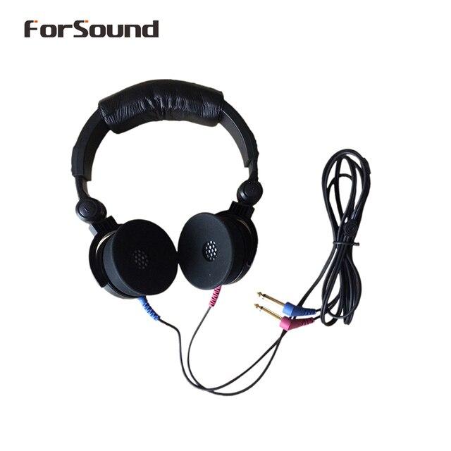 Thương Hiệu Mới TDH39 DD45 Audiometer Tai Nghe Không Khí Đầu Dò Tai Nghe