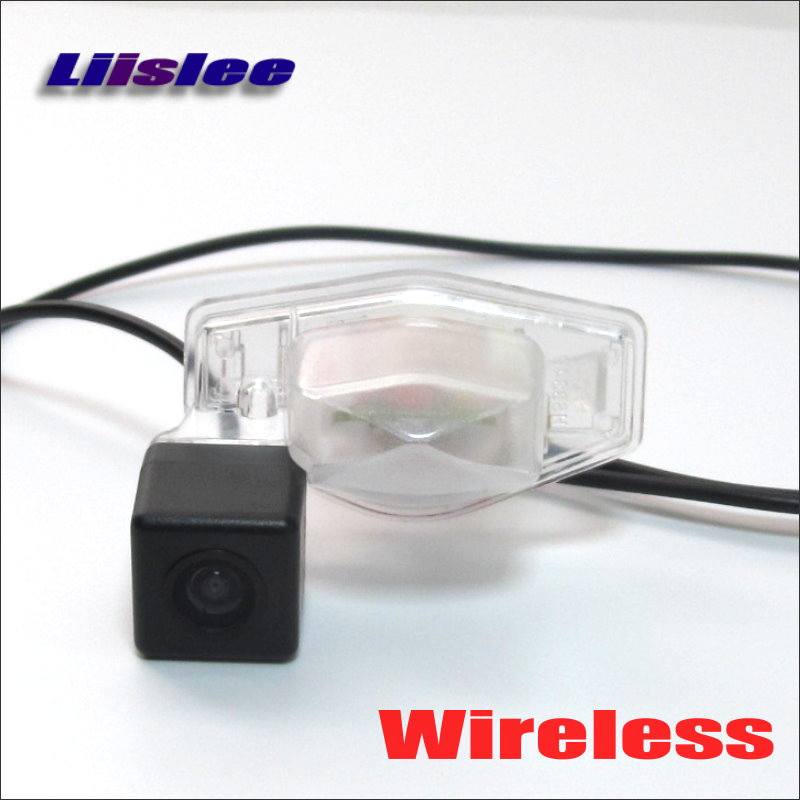 Liislee Wireless Car Rear View Camera For Honda HRV HR V 2013 2016 HD Back Up