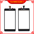 New 5.5 Inch Replacement Touch Screen For WIKO SLIDE 2  Digitizer Panel Free Shipping