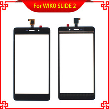 цена на New 5.5 Inch Replacement Touch Screen For WIKO SLIDE 2  Digitizer Panel Free Shipping