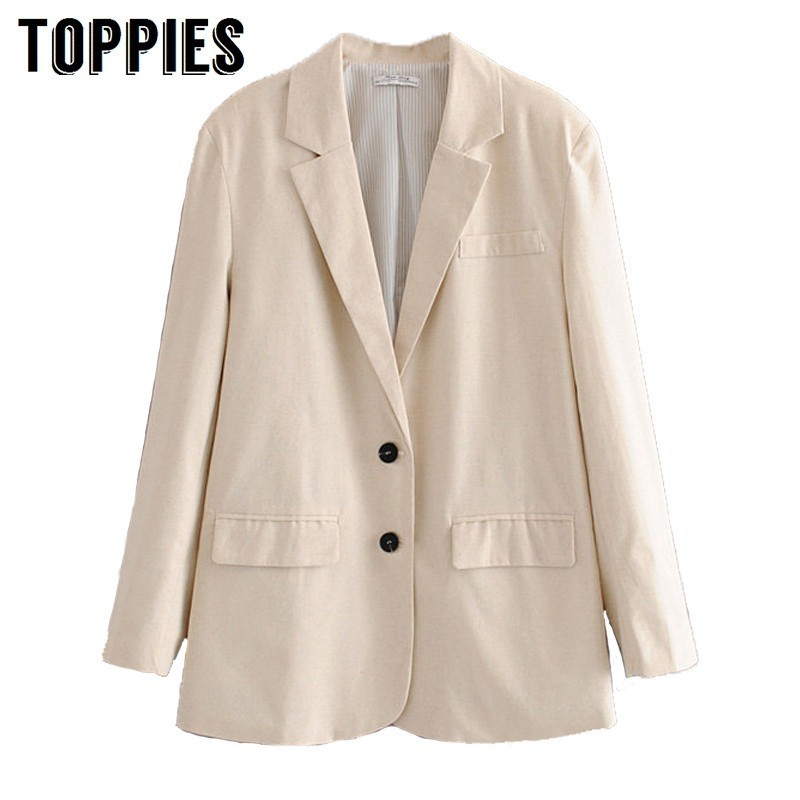 Summer Thin Blazer Office Lady Small Suit Jacket Solid Color Single Breasted Coat Women 2019