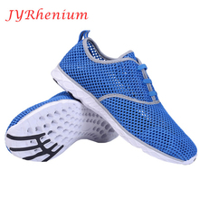 JYRhenium Summer Running Shoes For Men and Women Sneakers 2018 New Arrivals Couple outdoor Breathable Mesh Sport Women Gym Shoes