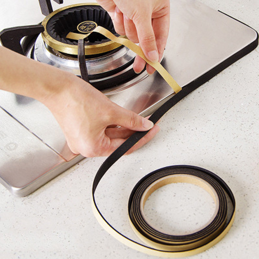 Top Kualitas 1 Roll Dapur Dinding Kamar Mandi Penyegel Pita Tahan Air - Barang-barang rumah tangga