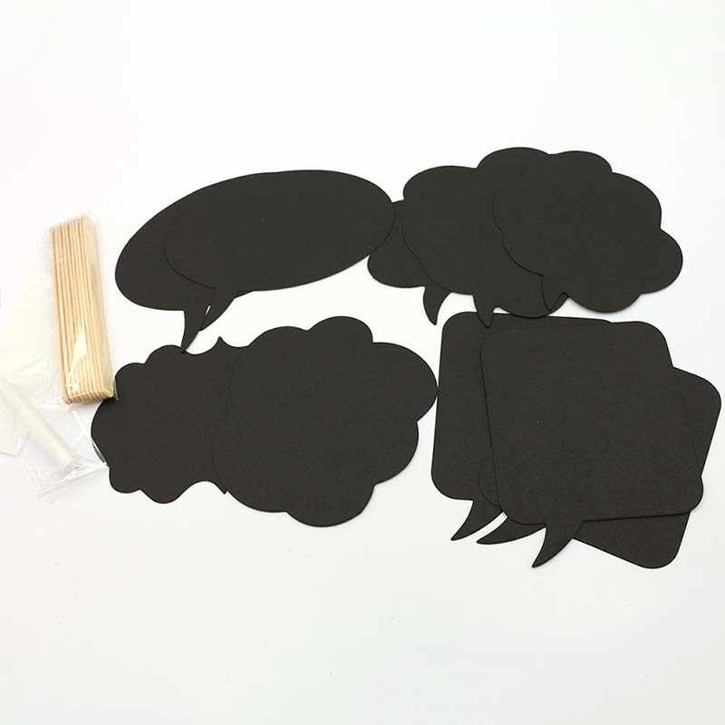 10PCS DIY Funny Photo Booth Props Black Card Paper Decorative props Wedding Creativity Accessories Event Party Photo Booth