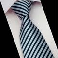 Lo nuevo de Poliéster Lazo de Los Hombres de la Marca Clásica de Rayas Corbata Corbata Para Los Hombres de Moda Ropa Hombre Corbatas Corbatas Lazo Para Fiesta de Negocios boda