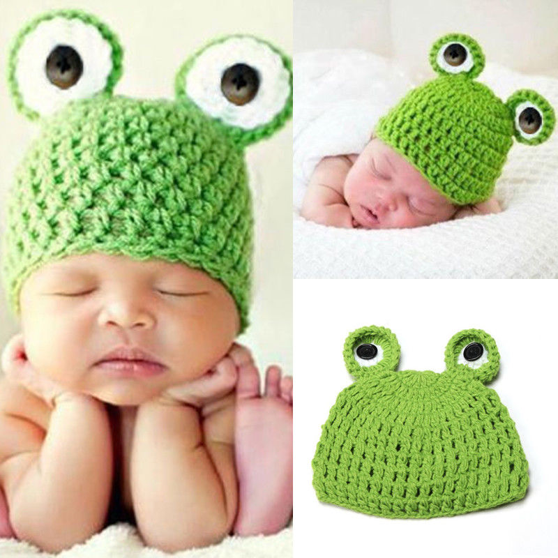 PUDCOCO 2017 Newest Lovely Newborn Baby Knit Crochet Hat Photography Prop Costume Warm Winter Cap Beanie купить в Москве 2019