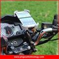 Universal 360 grados de rotación de la vespa de la motocicleta montaje del manillar soporte para teléfono para iphone 6/6 s/6 plus, 6 S Más, galaxy note 4/5