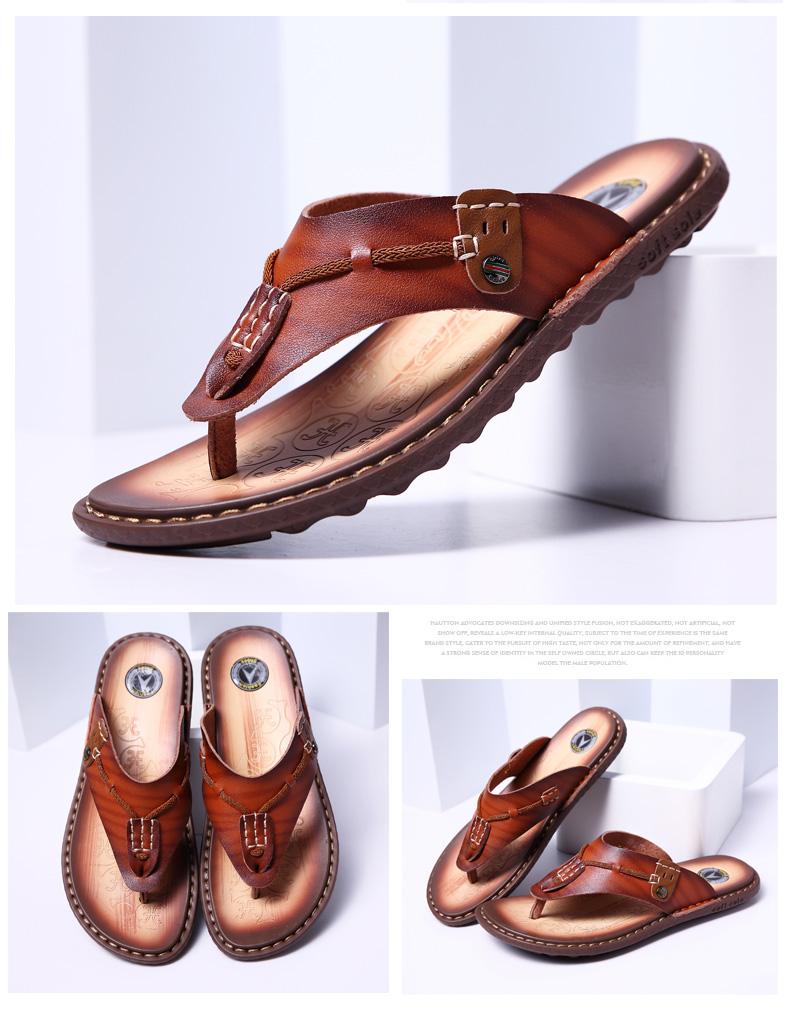 2087148b0cd XIZI New Summer Men Designer Flip Flops shoe Men s Casual Microfiber ...