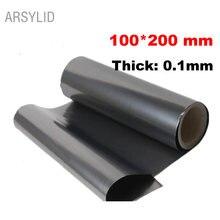 ARSYLID 100*200*0,1 мм Высокая теплопроводность материал натуральный графит пленка паста графитовый лист графитовая охлаждающая пленка