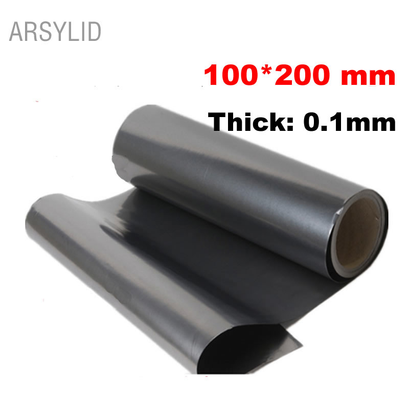 ARSYLID 100*200*0.1mm High thermal conductivity material Natural graphite film paste graphite sheet Graphite cooling film 300x300x0 025mm high heat conducting graphite sheets flexible graphite paper thermal dissipation graphene for cpu gpu vga