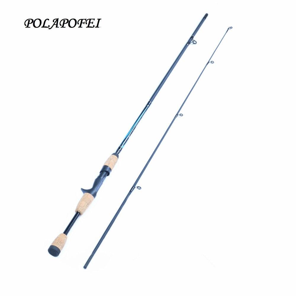 POLAPOFEI 1.83M Carbon <font><b>Fishing</b></font> Rod Fly <font><b>Fishing</b></font> Pole Spinning Rods Casting Lure Rod Carp Peche Olta Fit for shimano Reel D267