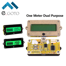 24V LY4 Lithium Lead Acid Battery Capacity Indicator LCD Display Meter Tester Percentage Voltage Voltmeter Detection