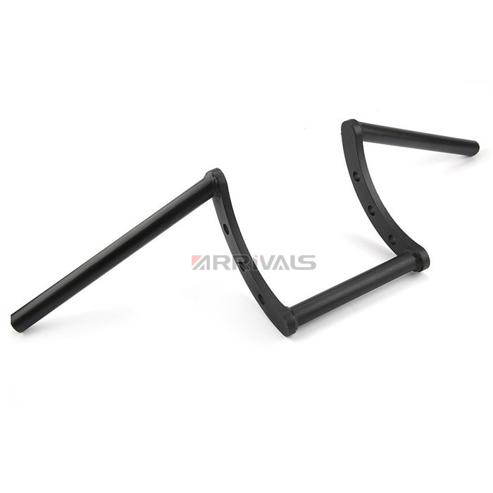 "Motorcycle Custom1"" 25mm or 7/8'' 22mm Z Bar Pullback Motorcycle Handlebar For Harley Sportster Chopper Bobber Softail Dyna-in Handlebar from Automobiles & Motorcycles    3"