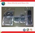 Envío Gratis Aleación De Aluminio MT Pedal Gas Del Resto Del Pie Del Freno del Combustible MT Pedales Pads Para sportage R 4 UNIDS