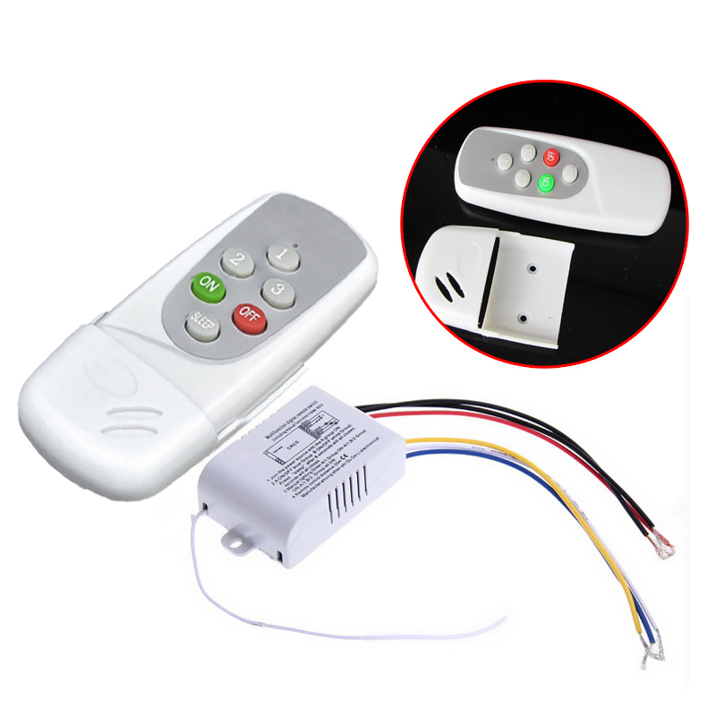 New Wireless 3 Ways On/Off Digital Remote-Control Switch for LED Light 220-240V   --M25 велотренажер sport elite se 1310