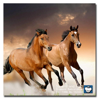 Animal Icon Diamond Painting Embroidery Galloping Horses DIY Needlework Cross Stitch Pattern Embroidery Beads Paintings Crystals