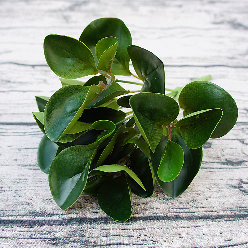 artificial watercress branches with leaves for fall home wedding
