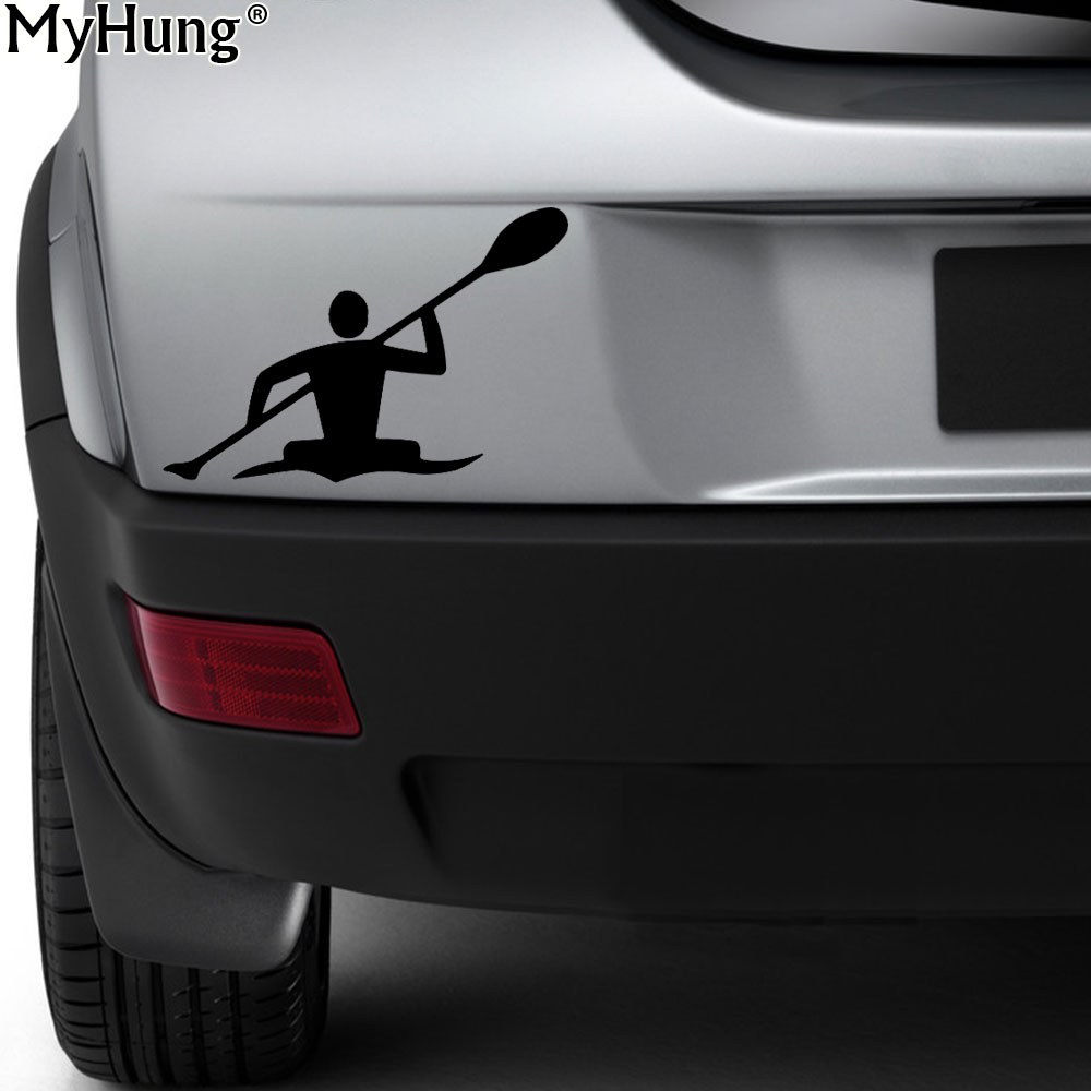 New dynamic games boating kayak paddle water lake funny car stickers bumper custom decals window sticker car styling auto part
