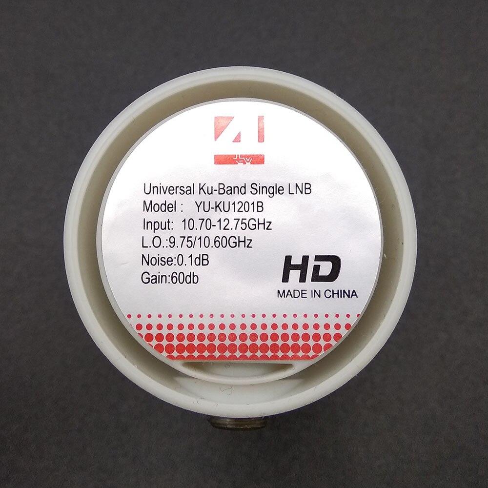 Купить с кэшбэком Hight quality full HD DIGITAL KU-BAND Universal Single LNB Satellite LNB satellite receiver lnb universal ku lnb 1 Output LNBF