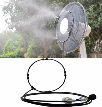 E075 Water Misting Fan Ring System with Self Priming Pump 1