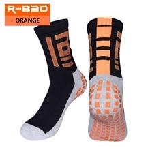 RB6604 R-BAO 2017 New Arrival Adult Terry Sole Soccer Socks High-quality Non-slip Football Short Socks