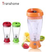 Transhome Mezclador Automático Botella Blender Bottle Proteína Botella Portátil De Agua Eléctrico Agitación Batido De Café