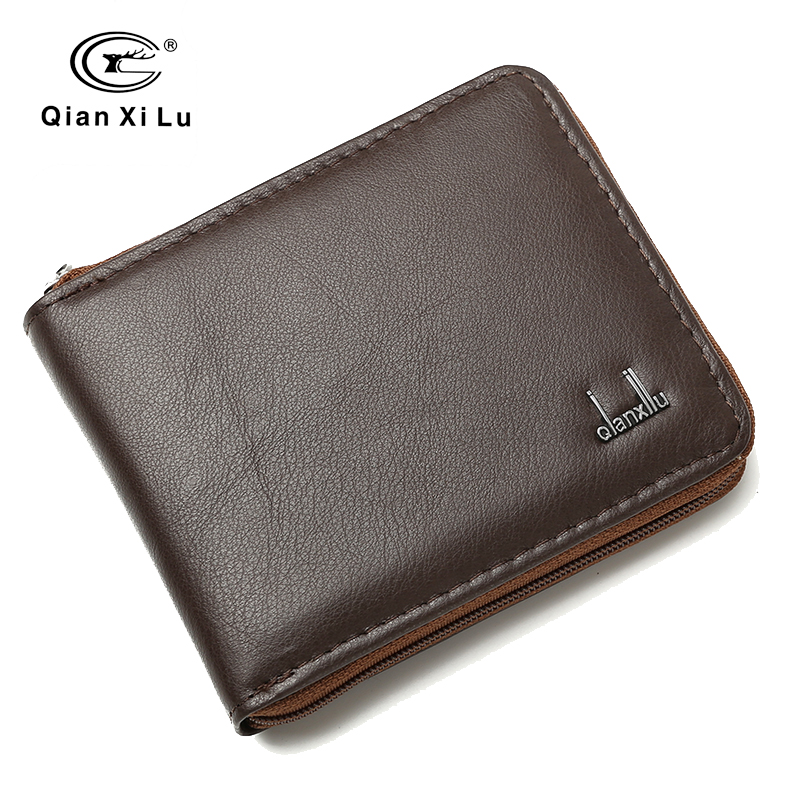 Men Soft Leather Business Short Wallet  Leather Wallet for Men Casual Cowhide Purse Coin Pocket High Quality frank buytendijk dealing with dilemmas where business analytics fall short