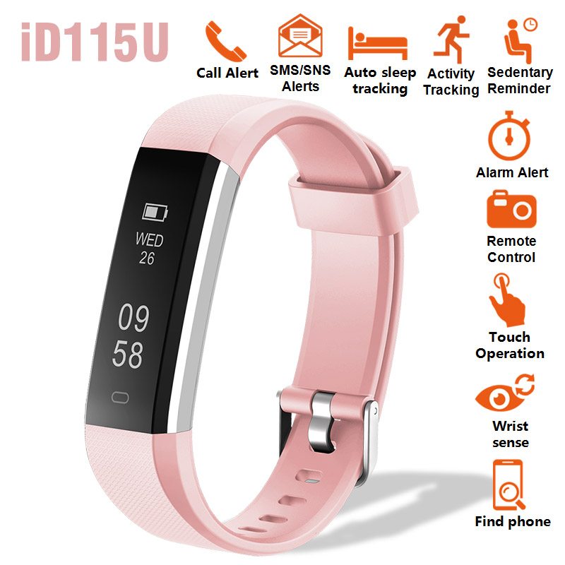 New Smart Bracelet Watch Intelligent Remind Activity Tracker Sleep Monitor Remote Camera Smart Band Wristband For Iphone Android