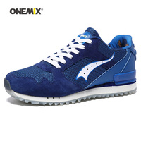 ONEMIX New Men Running Shoes For Women Mesh Run Sports Shoe Agan Retro Classic Athletic Trainers Outdoor Walking Sneakers 2018