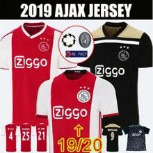 9fd39e8af6e 2019 2020 nieuwe Nederlandse kampioen Ajax voetbal Jersey ZIYECH SCHONE Ajax  jersey Volwassen T-Shirt