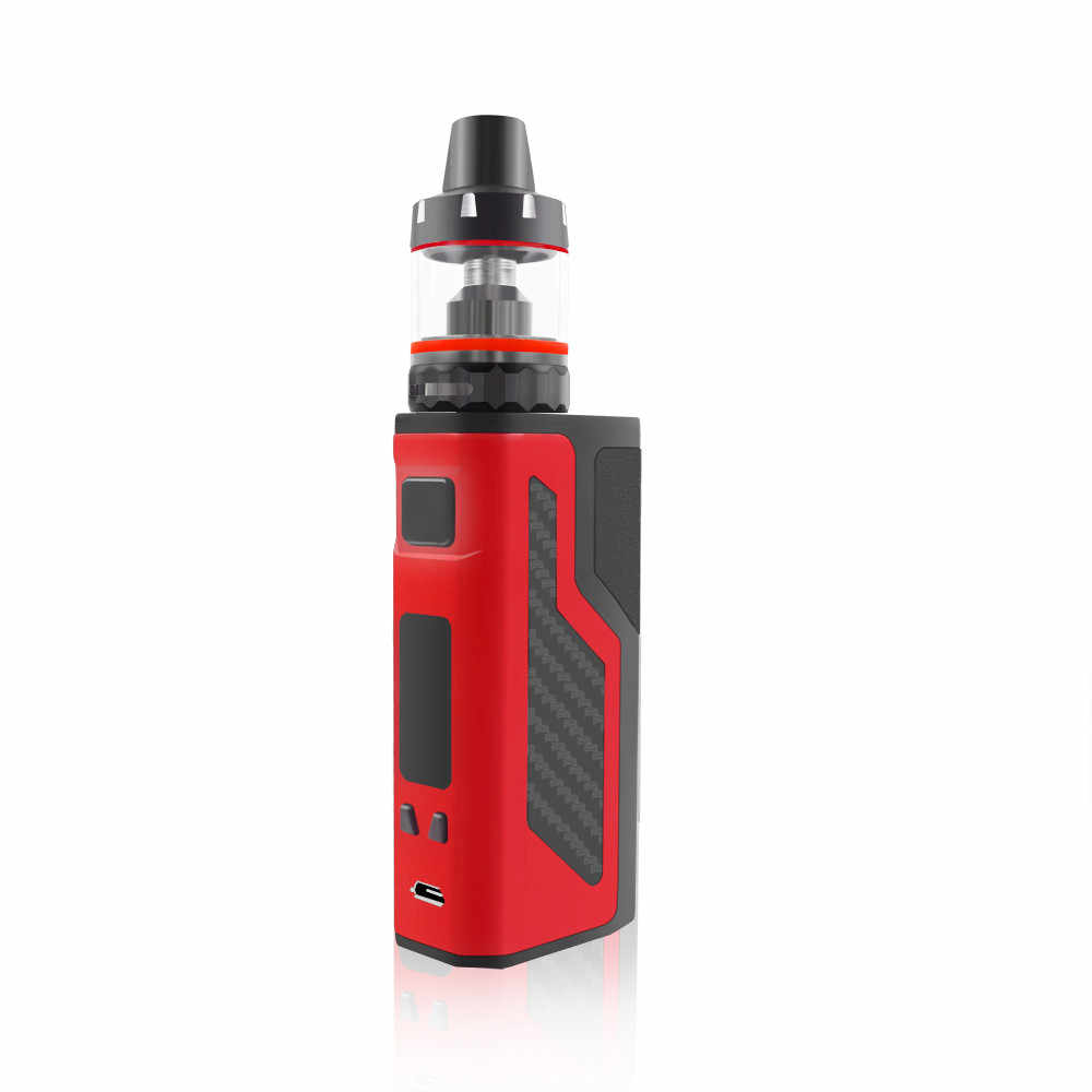最新 100 W 電子タバコ led スクリーン 2200 650mah のバッテリー 3.5 ミリリットルアトマイザー水ギセル気化器 100 ワット蒸気を吸う液体 vaper