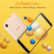 Asus Zenfone Live (L1) ZA550KL Mobile Phone 5.5 Inch 18:9 Display Snapdragon 425 16GB 3000mAh Face Unlock 4G Smartphone(China)