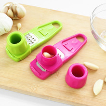 New Hot Sale Kitchen Household  Multifunction  grinding garlic ginger mill is cut garlic press