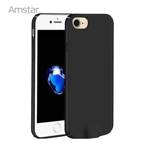Image 5 - Amstar kablosuz şarj alıcı kutusu kapak Qi kablosuz şarj vericisi kapak Qi alıcı telefon kılıfı için iphone 7 6S 6 artı