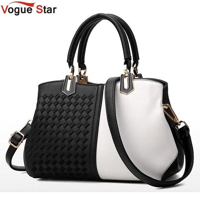 a8fe1aa8ab Brand Luxury Handbags Women Bags Pu Leather Lady Fashion Zipper Messenger  Bag Female Plaid Shoulder Bags