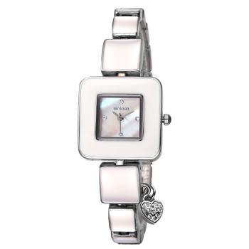 Nowy marka luksusowe nowy produkt moda kwarcowy zegarek dla kobiet ze stali nierdzewnej Watchband prosty biznes zegarek damski Reloj Mujer tanie i dobre opinie QUARTZ Stop Bransoletka zapięcie Nie wodoodporne Moda casual Odporny na wstrząsy Odporne na wodę 2737 8 1mm 19 8cminch