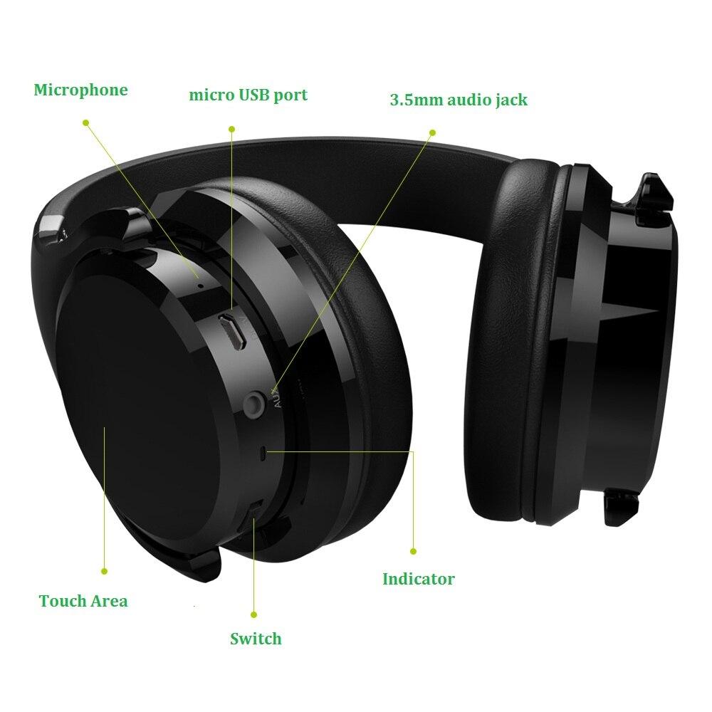 Zealot B21 casque bluetooth hifi Stéréo Basse Écouteur Sans Fil casque avec suppression de bruit avec micro pour Téléphones Touch Control - 3