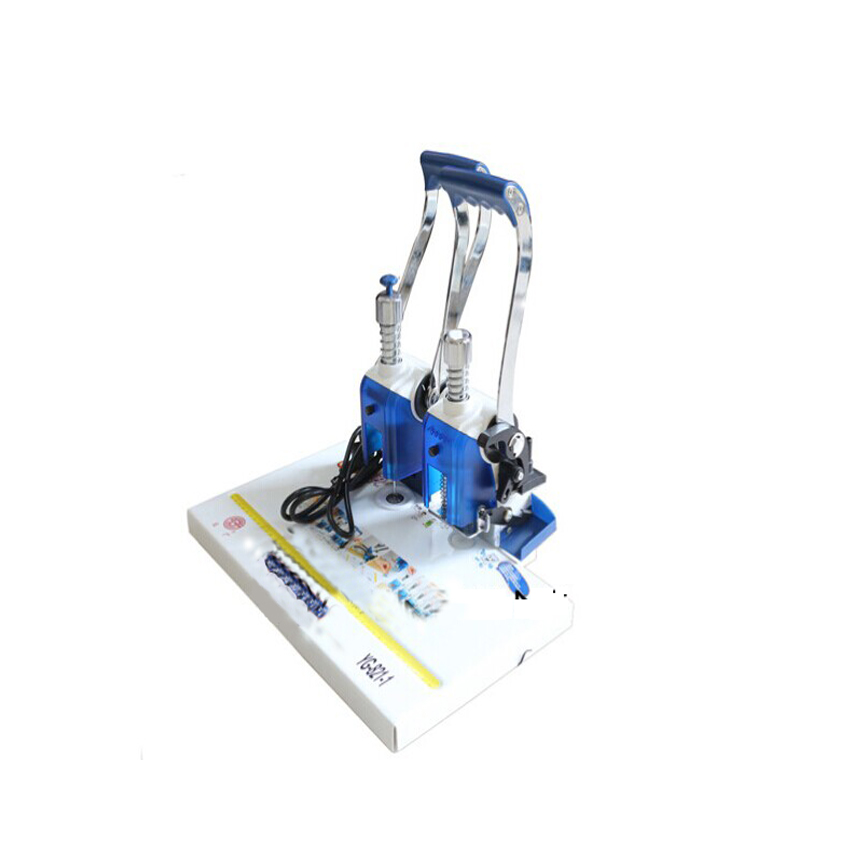 Electric bookbinding machine,financial credentials, document,archives COMB binding machine deli 3873 heavy duty comb style binding machine 21 hole punch machine