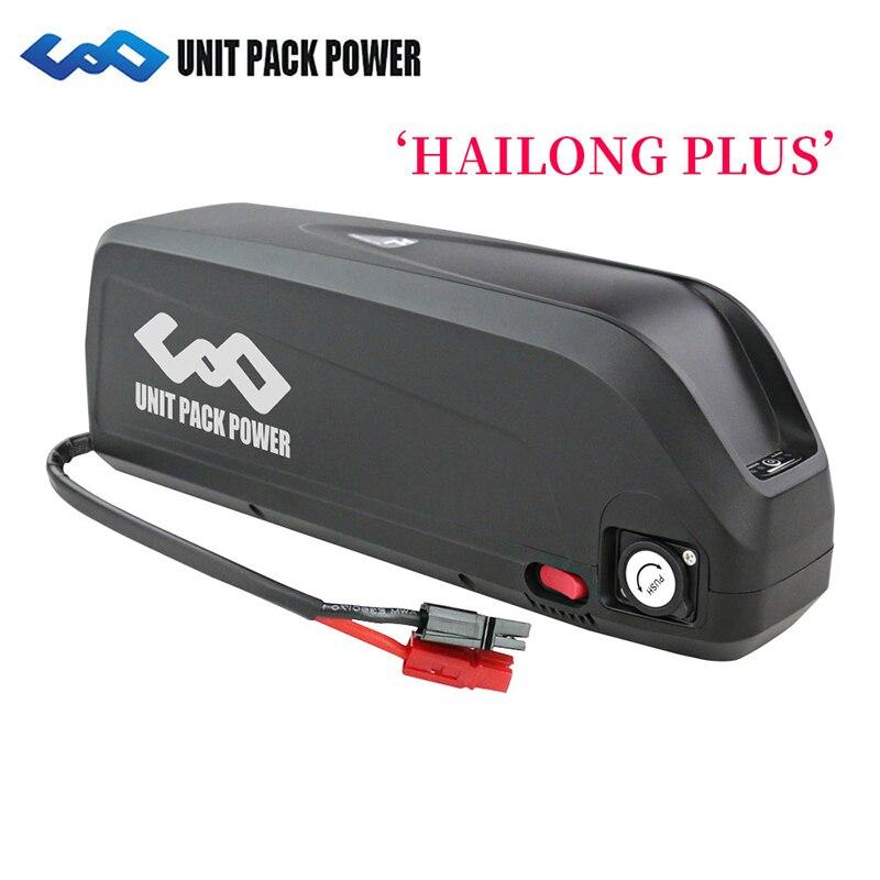 Incrível! Hailong Plus E moto-Bateria 48V 21Ah com Samsung Sanyo Células para 1000W 750W 500W bicicleta elétrica Kits de Motor