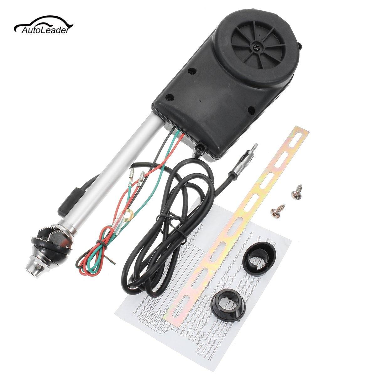 Carro-estilo 12 v fm/am universal automático antena retrátil antena do carro rádio elétrico carro