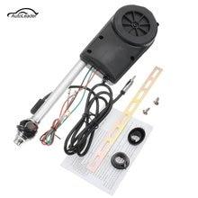 Стайлинг автомобиля, 12 В, FM/AM, автоматическая универсальная Выдвижная антенна, автомобильная антенна, Электрический радиоприемник