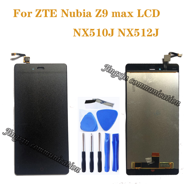 """5.5"""" for ZTE Nubia Z9 Max NX510J NX512J LCD + touch screen digitizer sensor component display repair replacement parts"""