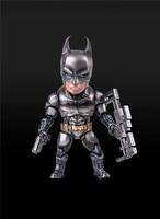 Anime Marvel MA Cute Armor Silver Batman Action Figure Toys Gifts