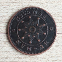 Chinese antique old coin factory direct embossed 3D coins